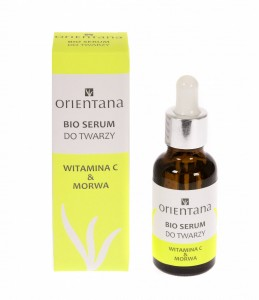 Serum do twarzy Witamina C & Morwa 30ml Orientana