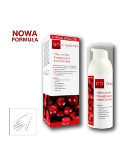 Krem do rąk 50ml GoCranberry