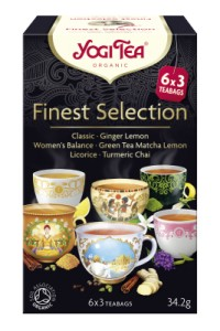 Herbata mix Finest Selection BIO (6x3g) Yogi Tea
