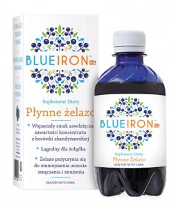 Żelazo w płynie 300ml Blue Iron