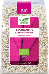 Amarantus ekspandowany BIO 100g Bio Planet