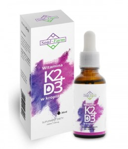 Witamina K2+D3 w kroplach 30ml Soul Farm