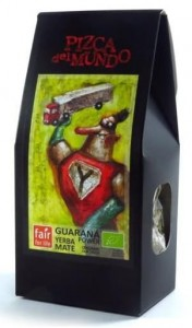 Yerba mate guarana BIO 100g
