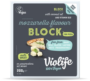 Alternatywa sera mozzarella blok 200g Violife