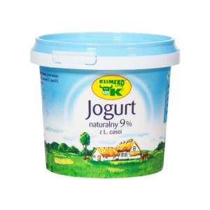 Jogurt 330 ml 9% Klimeko