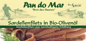 Anchois w BIO oliwie z oliwek 50g Pan do Mar