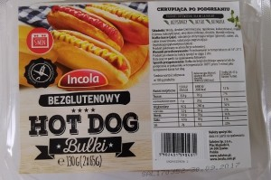 Bułka hot dog 130g Incola