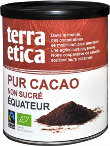 Kakao fair trade BIO 200g Terra Etica
