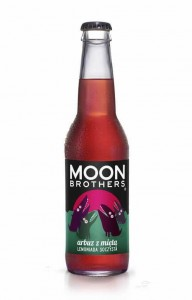 Lemoniada arbuz z miętą 330ml Moon Brothers