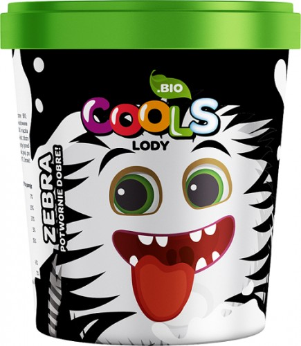 Lody Zebra BIO 500ml Cool's-4197